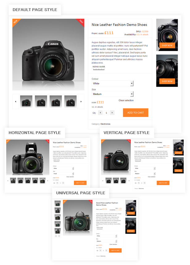 Product Page XMarket